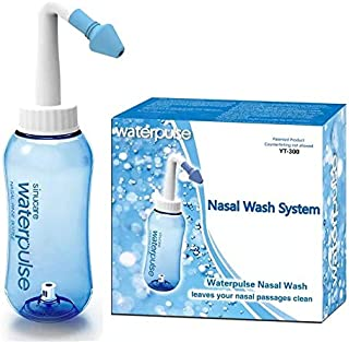 Children Neti Pot Standard Nose Nasal Wash Yoga Detox Sinus Allergies Relief Rinse 300ML