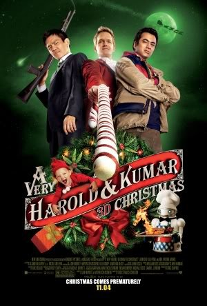 A VERY HAROLD AND KUMAR 3D CHRISTMAS – Imported Movie Wall Poster Print – 30CM X 43CM