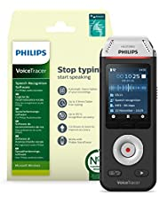 8GB Grabadora de voz digital profesional Philips DVT2810, Voice recorder grabadora de audio portátil