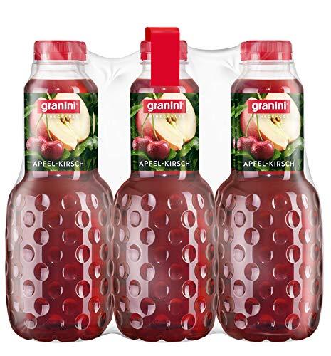 granini Trinkgenuss Apfel-Kirsch, 6er Pack (6 x 1 l)