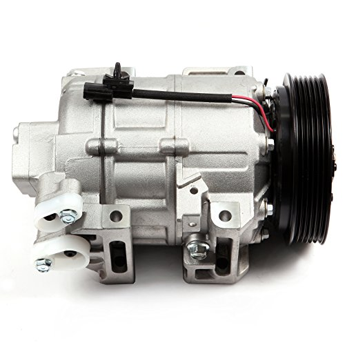 NOTUDE AC Compressor with Clutch for Altima 2007-2012 CO 10886C Air Conditioning Compressor