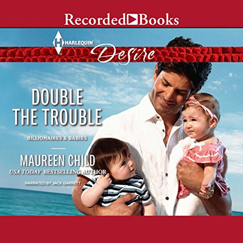 Double the Trouble audiobook cover art
