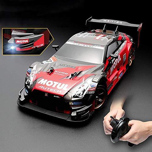 SUPER FAST DRIFT KING R / C Sports Racing Car Remote Control Race Carrera RC RC Rally Racing Coche 2.4GHz Control remoto Vehículo de carrera de alta velocidad Tõyy Car 4x4 PVC para niños Regalo k
