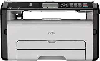 Ricoh SP210SU Monochrome Multi-Function Laser Printer (White)
