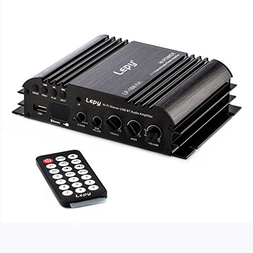 nobsound LEPY 168plus 2.1 Channel 80 W + 68 W Hi-Fi stereo USB/SD/Bluetooth/AUX/RCA Audio Digital Power Amplifier Subwoofer Bass Amp
