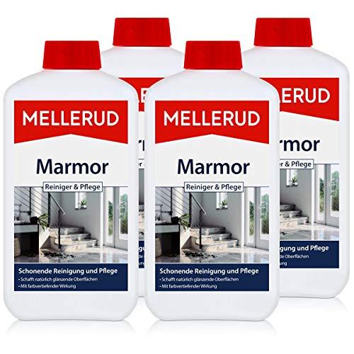 4x Mellerud Marmor Reiniger und Pflege 1L