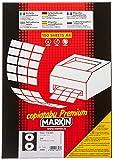 Markin A460 Etichette per CD, Diametro 114.5 mm, Pacco di 200 pezzi