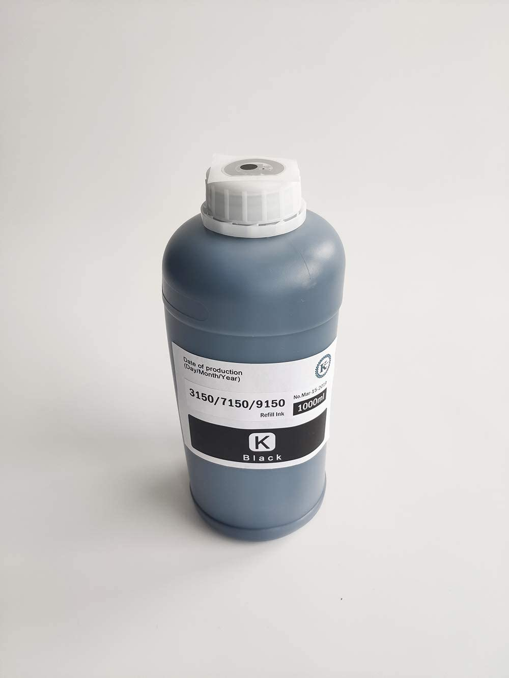 Kreyoly Brand K C M Y Color Refill Ink Replacement for Riso ComColor 3150//7150//9150 with chip Cyan