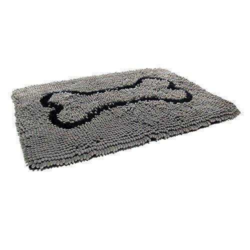 Dog Gone Smart | Dirty Dog Doormat grau | L 78 x B 50 cm