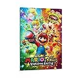 Super Mario Rabbids Kingdom Battle Art Poster Wandkunst,