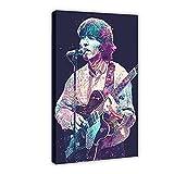 George Harrison Sänger Poster Leinwand Poster Wandkunst