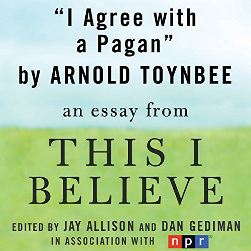 I Agree with a Pagan audiobook cover art