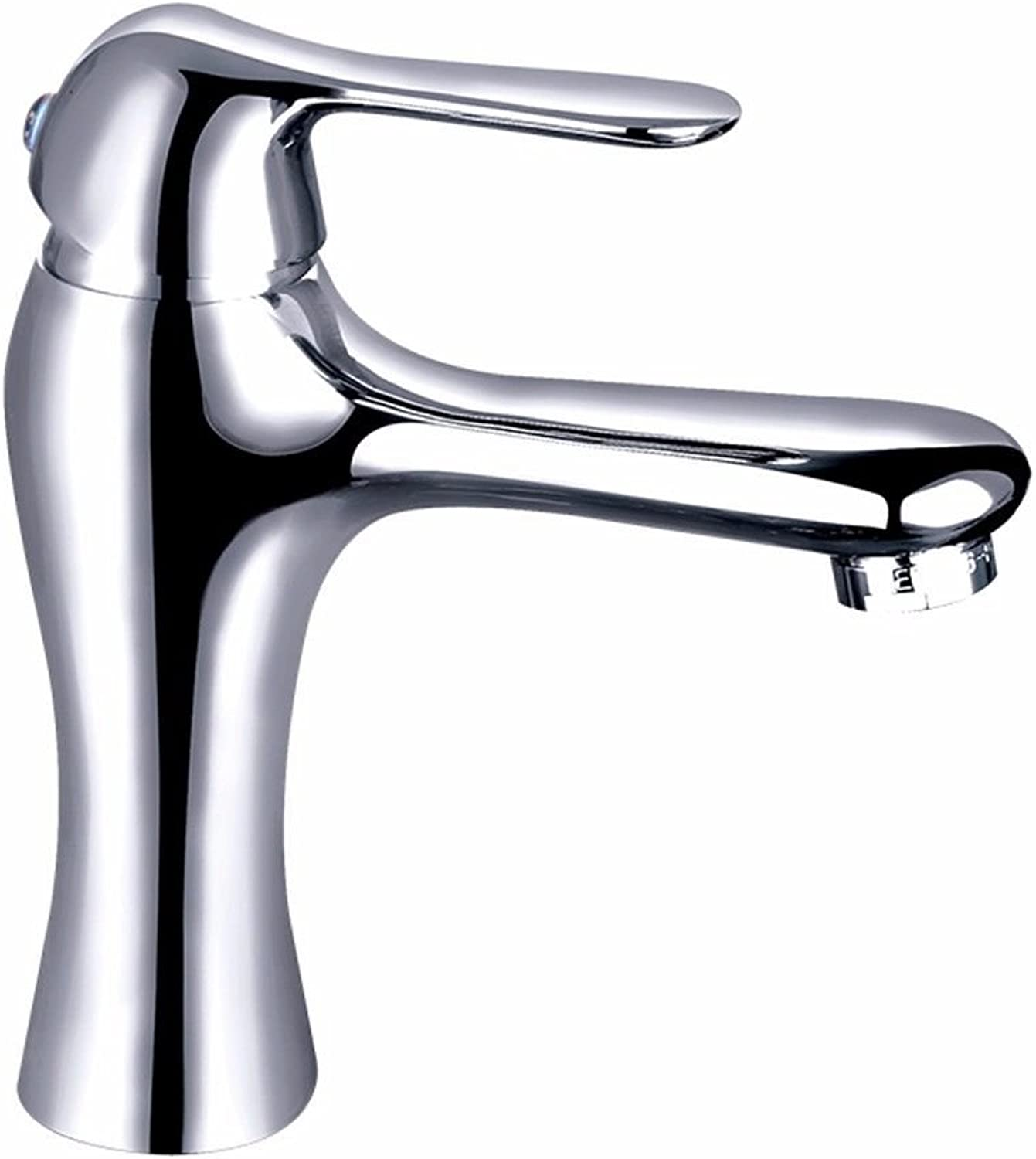 Hlluya Professional Sink Mixer Tap Kitchen Faucet Faucets copper single hole cold-hot sit-in, B