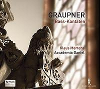 Graupner: Bass Cantatas