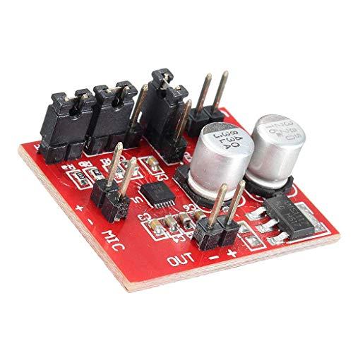 Kretskort Electret mikrofonförstärkare Microplate Board för hörapparater, megafoner, konferensmikrofoner etc