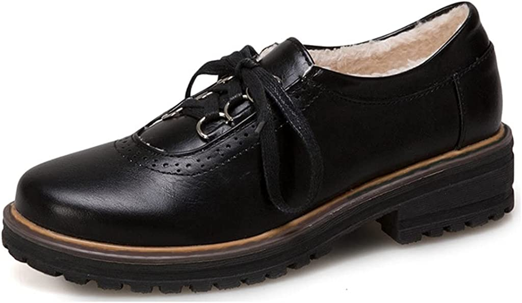 Tulsa Mall MIOKE Women's Classic Special Campaign Flat Oxford Shoes Low Heel Up Wingtip Lace