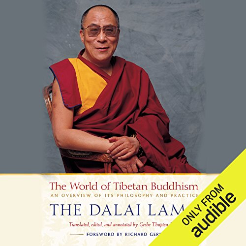 The World of Tibetan Buddhism audiobook cover art