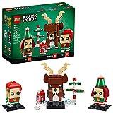 LEGO Brickheadz Reindeer, Elf and Elfie 40353 Building Toy, New 2020 (281 Pieces)