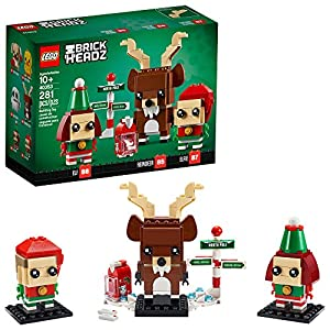 LEGO Brickheadz Reindeer, Elf and Elfie 40353 Building Toy, New 2020 (281 Pieces) - 51WpEi M6XL - LEGO Brickheadz Reindeer, Elf and Elfie 40353 Building Toy, New 2020 (281 Pieces)