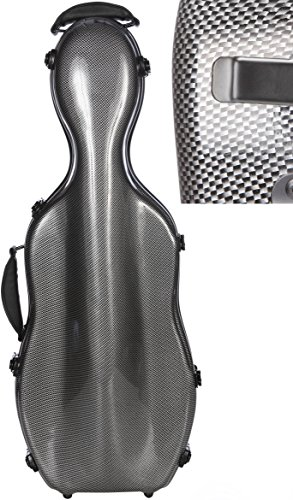 Custodia per viola 38-43cm Fiberglass Ultra Light carbon looking M-Case