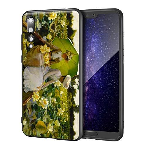 Charles Courtney Curran Huawei P20 Pro用ケース/ファインアート携帯電話ケース/高解像度ジクレーレベルUV...