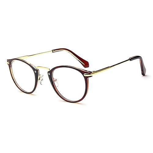 3056e100dd LOMOL Fashion Korean Personality Student Style Transparent Lens Frame Glasses  For Men Women