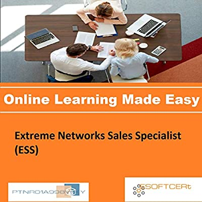 PTNR01A998WXY Extreme Networks Sales Specialist (ESS) Online Certification Video Learning Made Easy