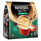 Nescafé 3 in 1 RICH Instant Coffee (25 Sticks) Made from Premium Quality Beans Has a Richer Taste than Nescafé 3 in 1 Original From Nestlé Malaysia