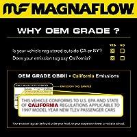 MagnaFlow 52115 ダイレクトフィット 触媒コンバーター (2003 ML350 3.7L アンダーボディ)