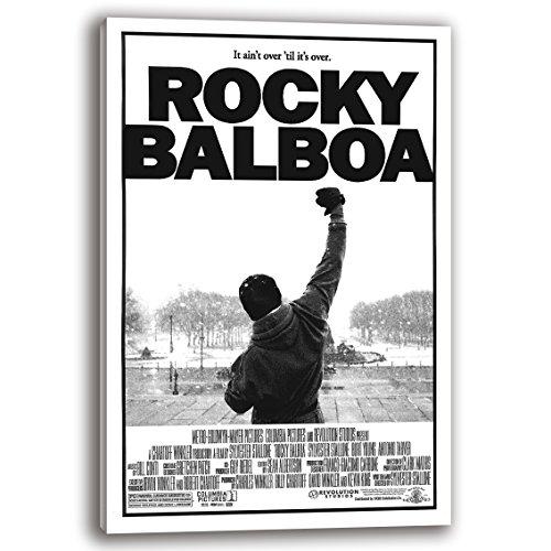 RuidoRosa Cuadro Lienzo Poster película de Rocky (60x40)