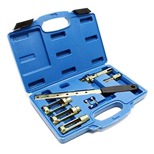 FreeTec 2 Pezzi Set Professionale di tendimolle a Molla da 12 Pollici con Accessori
