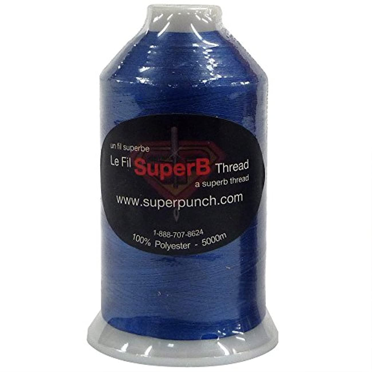 SuperB Polyester Embroidery Thread 40wt 5000m. Royal Blue 4453