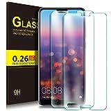 KuGi Huawei P20 Protector de Pantalla, Cristal Templado Vidrio Templado [9H Dureza] [Alta Definicion] Protector de Pantalla para Huawei P20 (Paquete de 2)