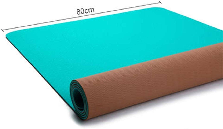 c69cd1004daa Yoga Mat Beginner Fitness Mat Three-Piece Widening Thickening Long ...