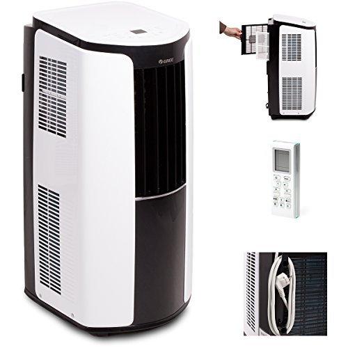 Gree Mobile Klimaanlage Shiny 12000 BTU Klima 3,5 kW a, 1 Stück, 390 x 820 x 405 mm, Weiß, GPC12AL-K3NNA1A