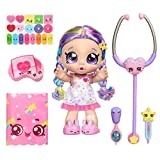 Kindi Kids Toddler Doll - Shiver and Shake Rainbow Kate - Interactive Talking Toy with Shopkins Accessories