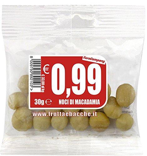 EuroCompany Noci di Macadamia - 30 gr