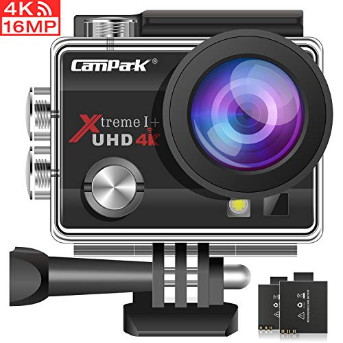 Campark ACT74 action camera 4k Wi fi Ultra HD Gran Angular 170...