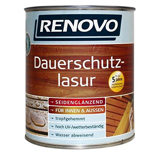 0,75L RENOVO Dauerschutzlasur 1411 Kiefer Lasur Holzlasur