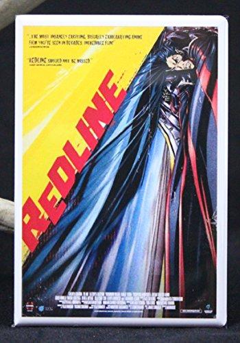 Redline Movie Poster Refrigerator Magnet.