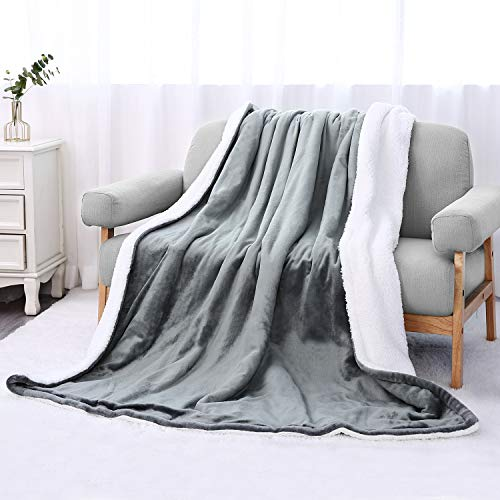 Heizdecke 130x180 cm, Elektrische Wärmedecken Heizdecken fürs Bett mit 6 Temperaturstufen, Abschaltautomatik Überhitzungsschutz, Waschbar, Flanell Kuscheldecke Bett Sofa Heimgebrauch