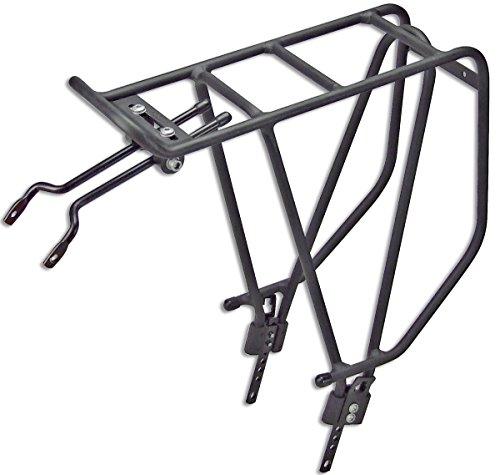 KLICKfix fietstas Rackpacker 26-28_zwart bagagedrager, één maat