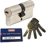 ABUS EC660 Profil-Doppelzylinder Länge (a/b) 30/35mm (c=65mm) mit 5 Schlüssel, mit Sicherungskarte