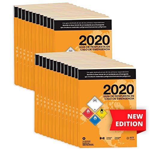 2020 Emergency Response Guidebook (ERG) 25-pk. - Spanish - 5.5' x 7.5' (Standard Size), Softbound - J. J. Keller & Associates - Helps Satisfy 49 CFR 172.602 DOT Requirement