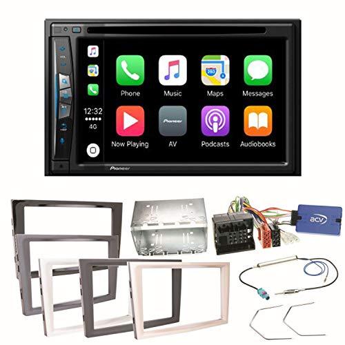Pioneer AVIC-Z610BT - Sistema de navegación para Coche (USB, CD, DVD, Bluetooth, MP3, WMA, 2 DIN, para Opel Astra H, Corsa D, Zafira B, Antara)