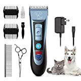 Best Dog Hair Clippers - Uiter Dog Clippers Grooming Clippers Kit Low Noise Review