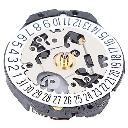 Pieza De Repuesto De Movimiento De Reloj, Herramienta Completa De Movimiento De Cuarzo Electrónico Preciso Resistente A La Oxidación Portátil Para Tienda De Relojes