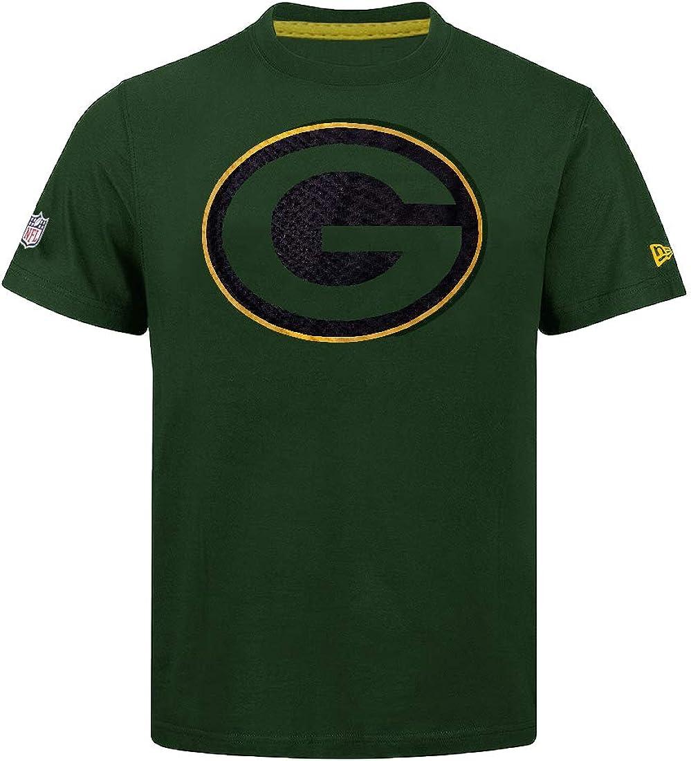 New Era Green Bay Packers T Shirt NFL Fan Pack tee