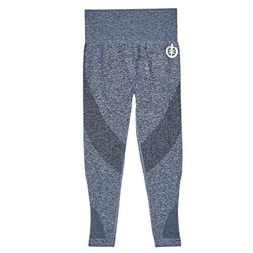 ICONI Women's Seamless High-Waisted Legging Gray Medium