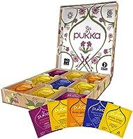 Pukka Thee Biologisch Support Selectie Box, Verjaardagscadeau, Giftset - 45 zakjes, 9 smaken - 1 box